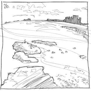 Thumbnail of Bamburgh and Eider duck