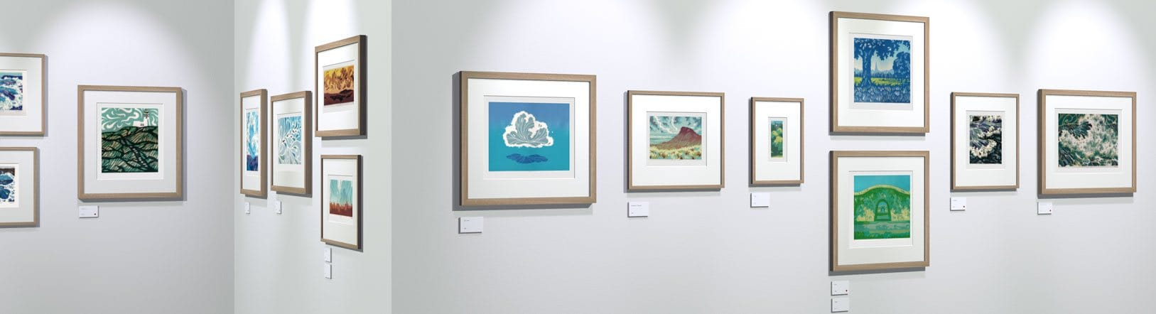 More original linocut prints on show