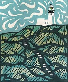 lighthouse print - Flamborough